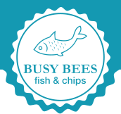 Busy Bees Fish & Chips Logo